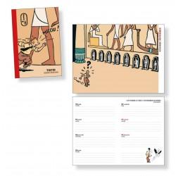 Tintin pocket diary 2022