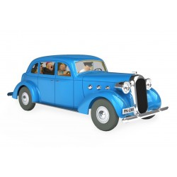 Tintin, the car of the Castafiore 1:24