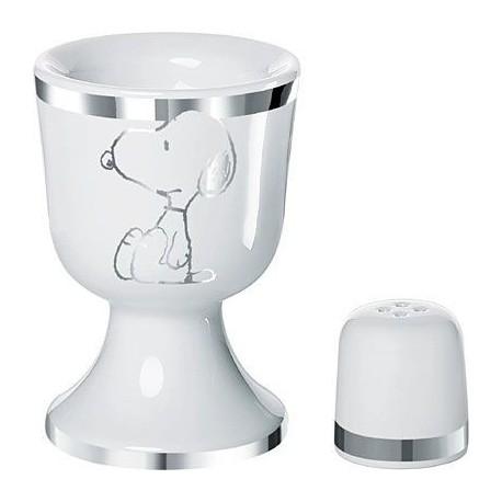 Eggcup/Salt Shaker Snoopy Silver Star