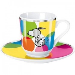 Espresso Set Snoopy Lots of Dots