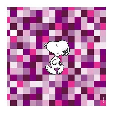 Servetten Snoopy Squares