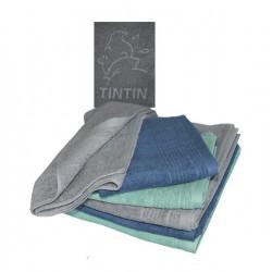 Handdoek Groen of Blauw 70 cm x 140 cm