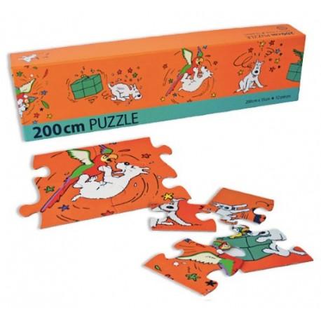 Puzzle Bobbie en Papagaai