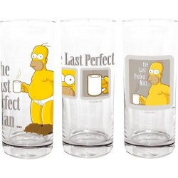 Homer 3x Longdrinkglas