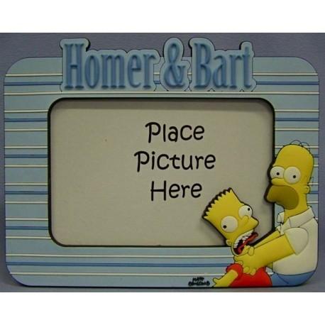 Fotolijst Homer & Bart