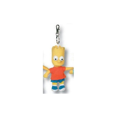 Bart pluche sleutelhanger - 15cm