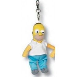 Homer pluche sleutelhanger - 15cm