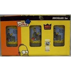 Homer 3x Juice glas BBQ