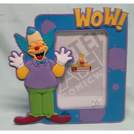 Krusty PVC picture frame