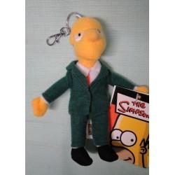 Mr Burns pluche sleutelhanger - 15cm