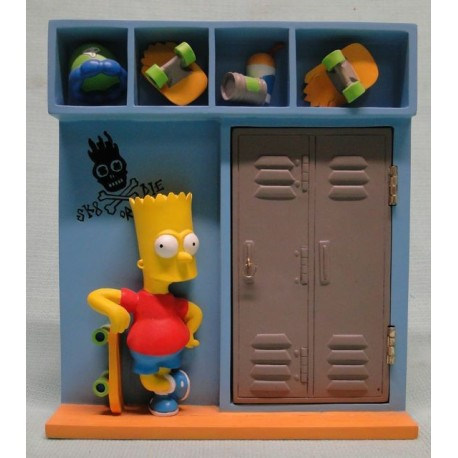 Bart fotolijst/beeld 3D School Lockers