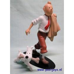 Tintin Globe - 19,5 cm