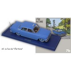 le taxi bleu Ford Zephyr Mk III