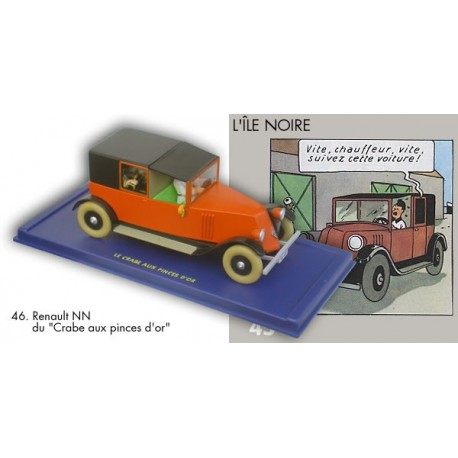 Le taxi rouge Renault