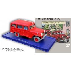 La jeep des pompiers