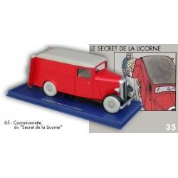 La Camionette du secrec de la Licorne