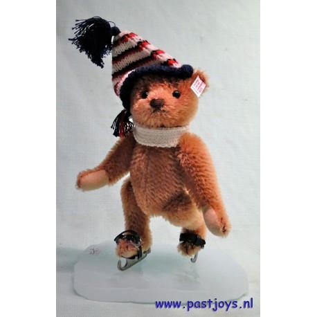 Teddybeer Schlittschuhlaufer, reddis brown